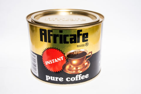 Africafe Pure Instant Coffee, 100 g tin can