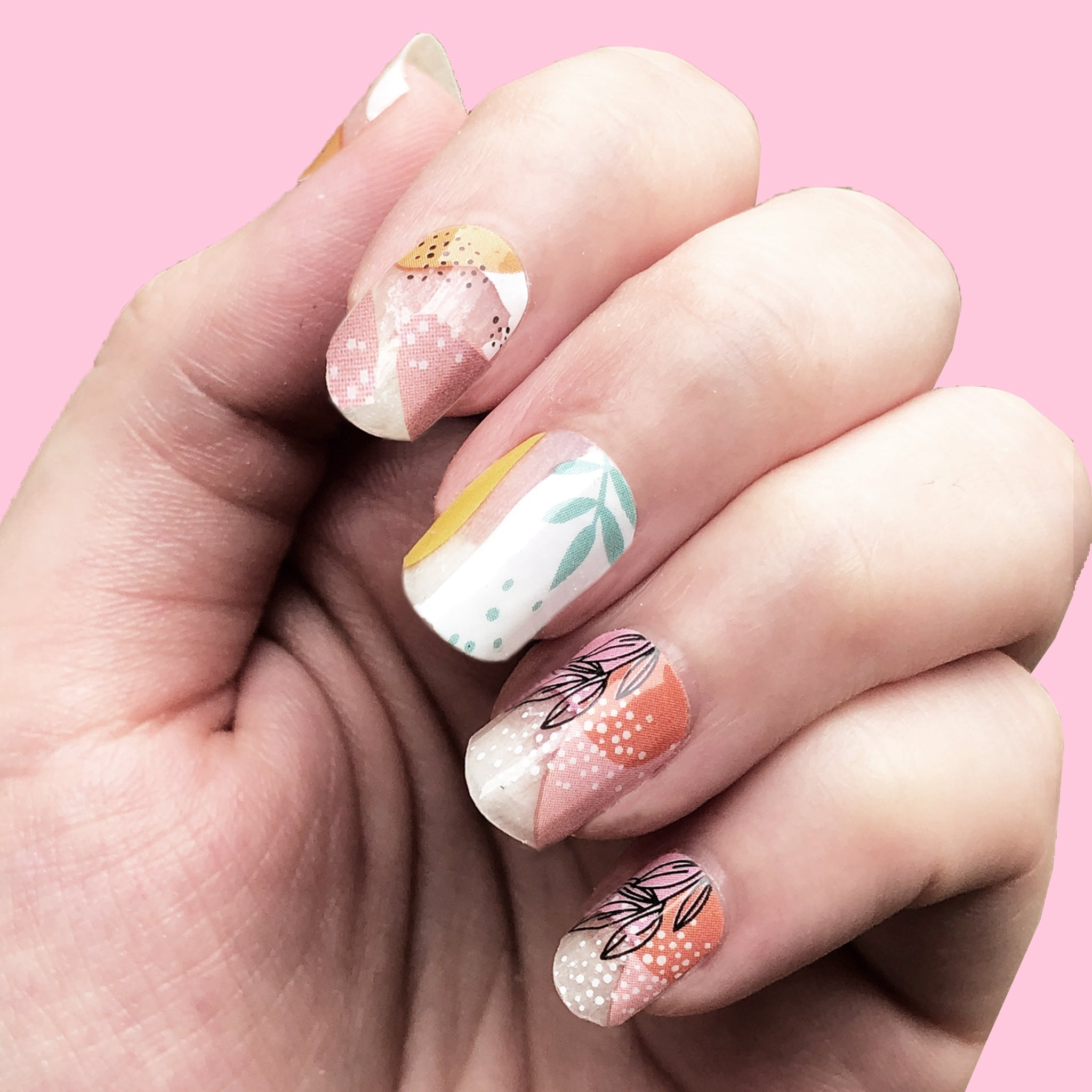 Summer Love - WrapIt Nails