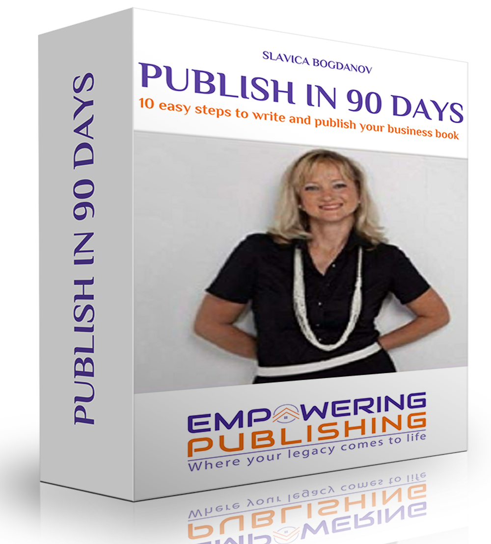 Write and Publish your Book in 90 days