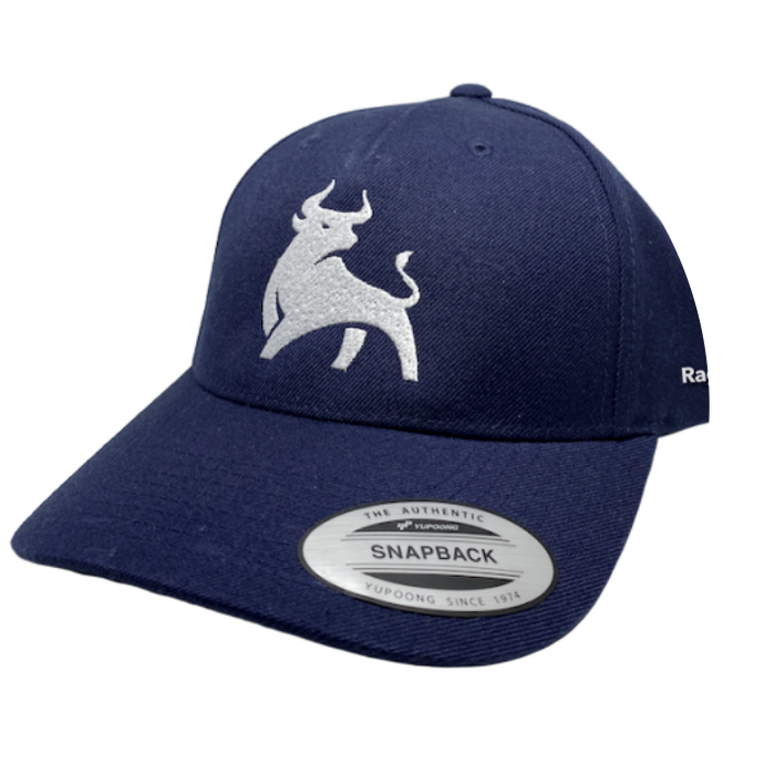 RagingBull Hat (Navy/White)