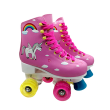 Load image into Gallery viewer, Kid's Light-Up Double Roller Skates