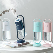 Load image into Gallery viewer, desktop mini mute night light atomization aromatherapy portable home humidifier