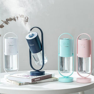 desktop mini mute night light atomization aromatherapy portable home humidifier