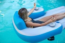 Load image into Gallery viewer, Motorized Inflatable Swimming Pool Lounger