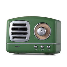 Load image into Gallery viewer, Inspire Uplift Green Vintage Bluetooth Speaker