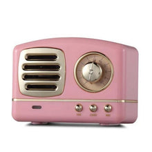 Load image into Gallery viewer, Inspire Uplift Pink Vintage Bluetooth Speaker
