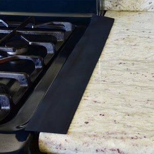 Inspire Uplift Stove Counter Gap Cover Black Stove Counter Gap Cover