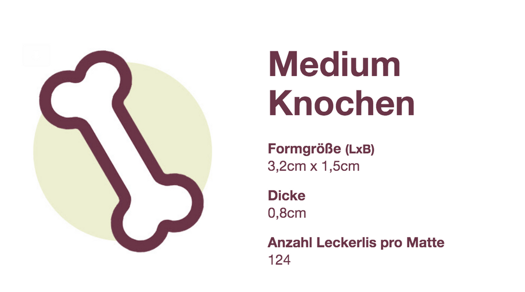 Knochen-Backformen