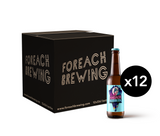 12 pack of Foreach Session IPA, craft beer