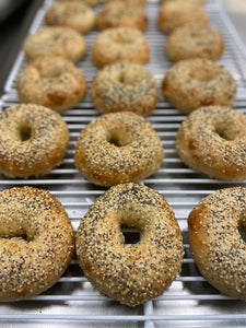 House made bagels - 4 pack
