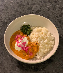 Free Range Butter Chicken - 2 serve portion (Gluten-Free friendly)