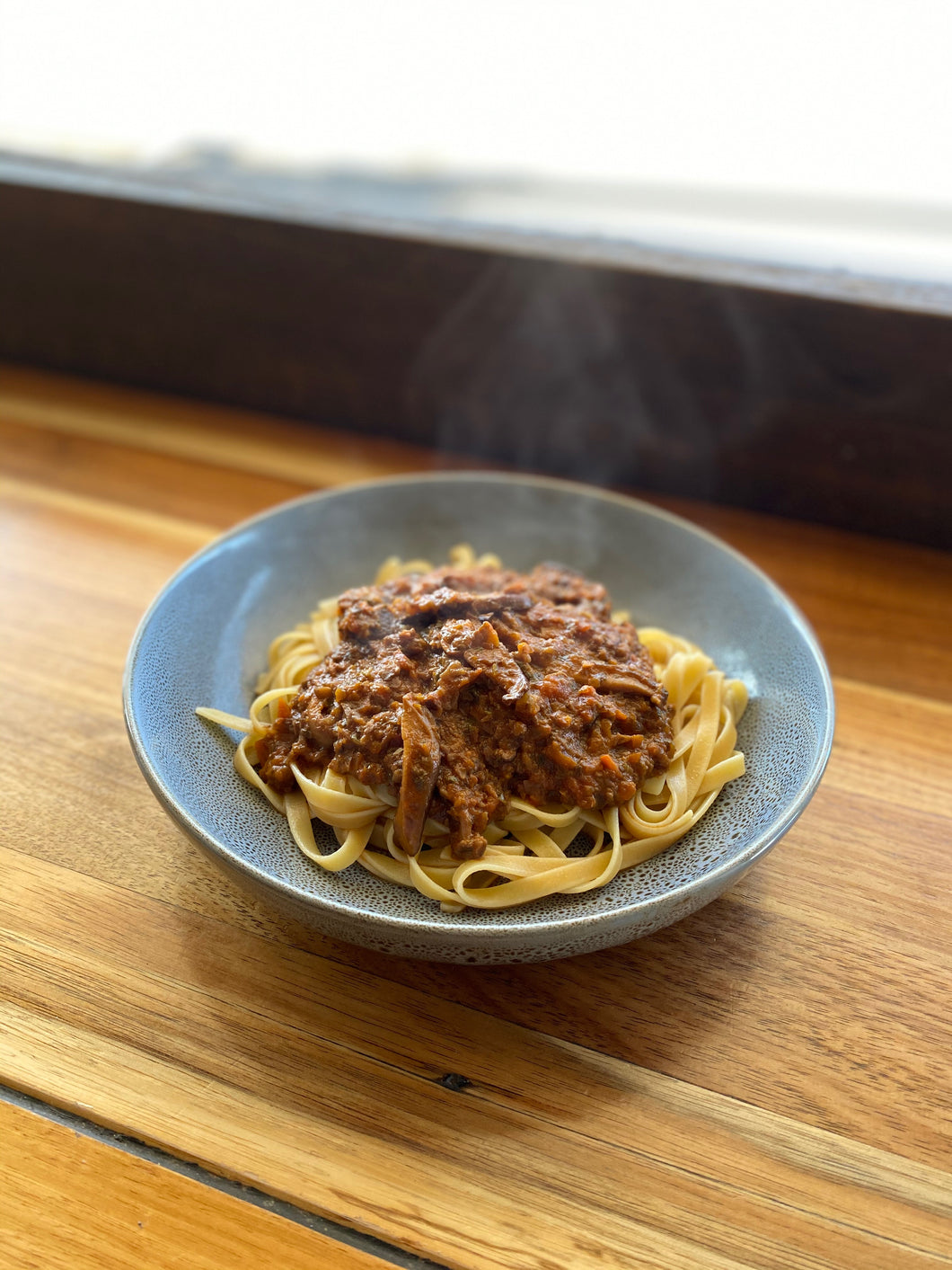 Swiss Brown and Shiitake Mushroom Ragú - 2 serve portion (GF and Vegan Options)