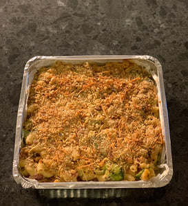 Broccoli and Bacon Mac and Cheese (serves aprox 4)