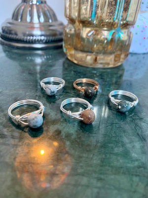 Wrapped Planetary Rings