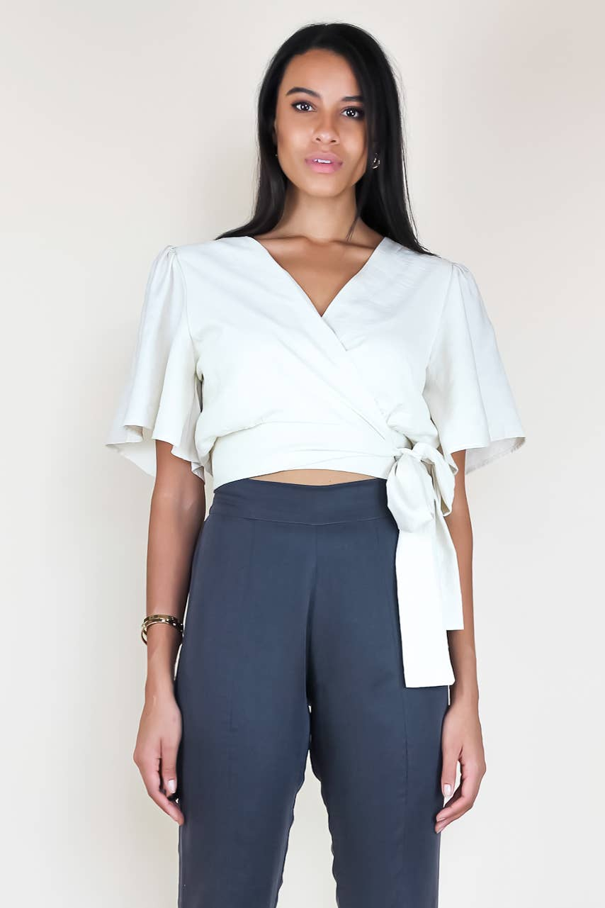 Lee Wrap Top