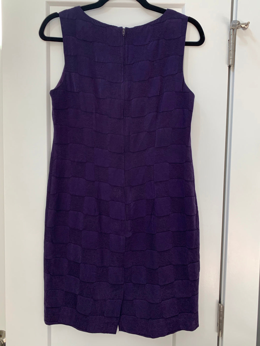 Vintage 60's Mod Violet Shift Dress