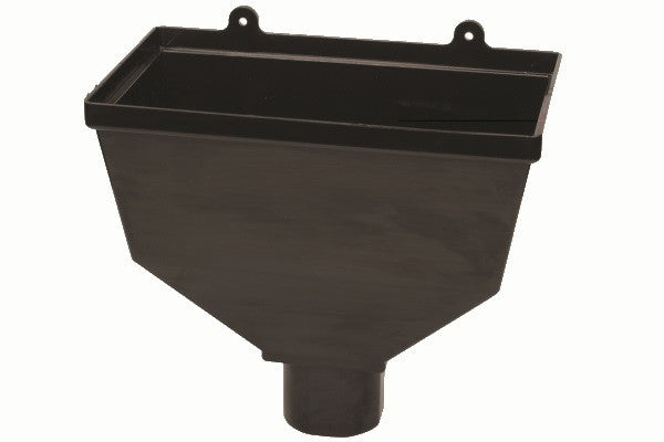 Hunter 68/65mm Round/Square Downpipe Hopper Head