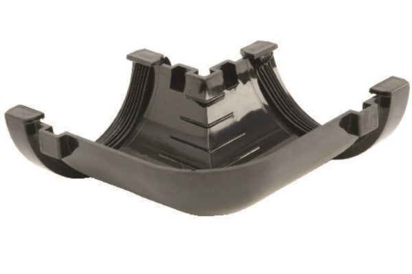 Hunter 76mm Half Round Gutter 90° Angle