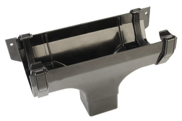 Hunter 114mm Square Gutter Running Outlet (65mm)