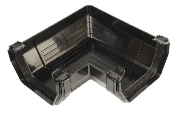 Hunter 114mm Square Gutter 90° Angle