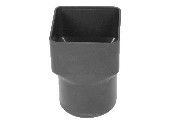 Hunter 68mm Round Downpipe Square to Round Connector