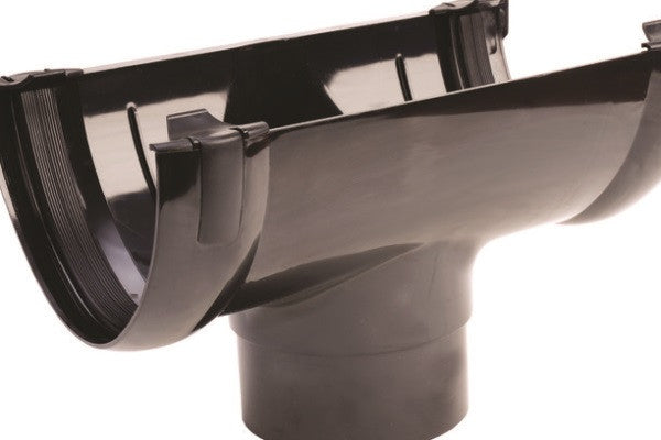 Hunter 200mm Stormflo Gutter Running Outlet (160mm)