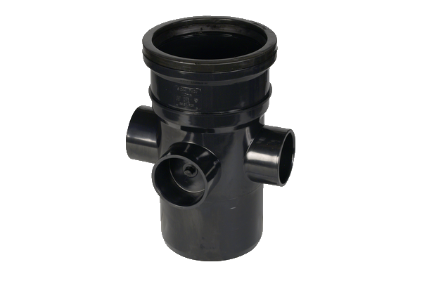 Hunter UPVC 110 mm Soil Boss Pipe (PUSHFIT Single Socketed)