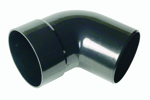 Hunter UPVC 110 mm Soil BOTTOM Offset Bend (SOLVENT Spigot Tail)
