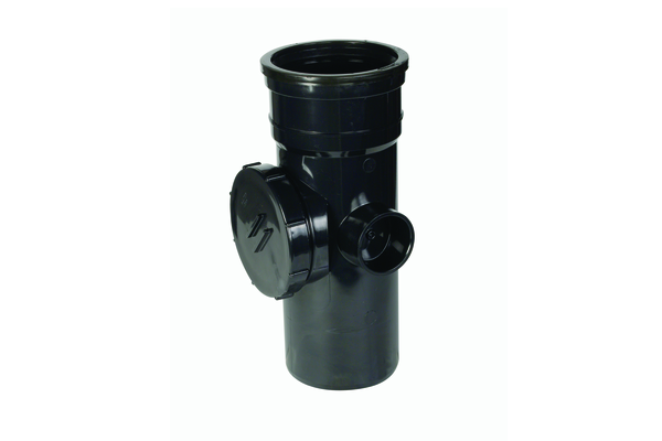 Hunter UPVC 110 mm Soil Access Pipe (PUSHFIT Single Socketed)