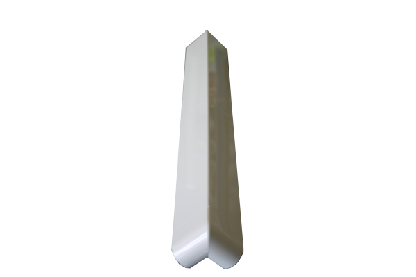 Swish UPVC  Fascia - Bullnose (16mm thick) External Corner (D/E)