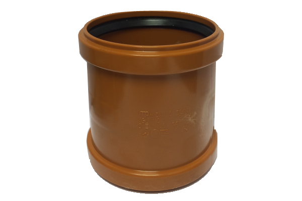 Eurotrade Underground Drainage Double Socket Repair Coupling 110mm
