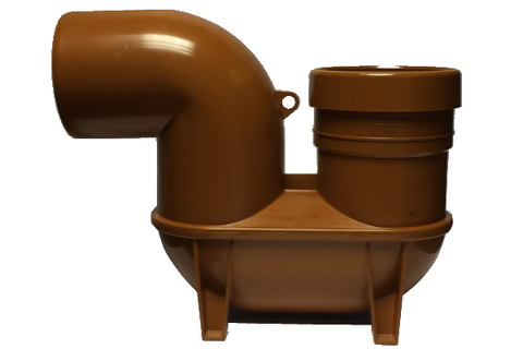 Eurotrade Underground Drainage Low Back P Trap