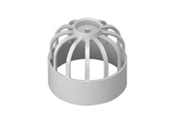 Hunter UPVC 110 mm Soil Vent Cowl (SOLVENT Socket Tail)