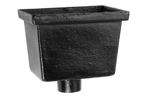 Alumasc Apex Heritage Cast Iron Round Downpipe Hopper Head
