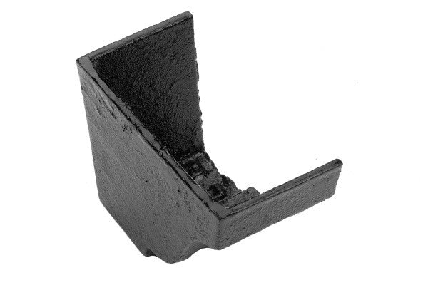 Apex Heritage Cast Iron Moulded Gutter Internal Stopend (Left Hand)