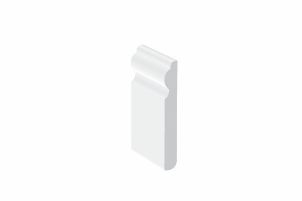 Swish UPVC Skirtings & Architraves - 12mm thick Ogee