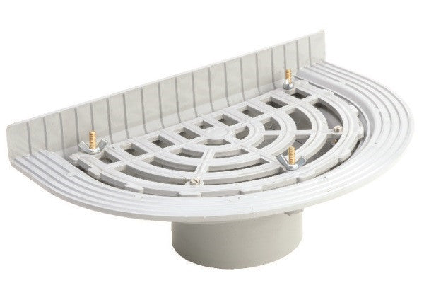 Hunter upvc balcony outlet ngs plastics for Balcony upstand