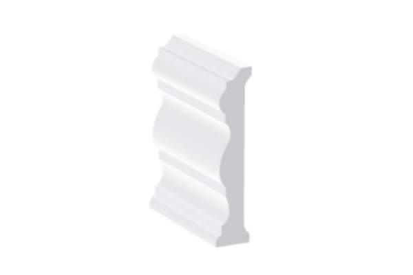 Swish UPVC Skirtings & Architraves - Decorative Profile - 70mm
