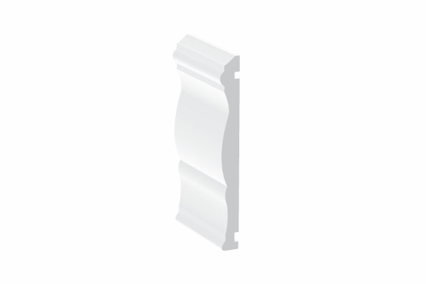 Swish UPVC Skirtings & Architraves - Decorative Profile - 120mm