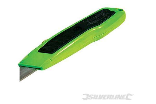 Silverline Retractable Hi-Vis Knife