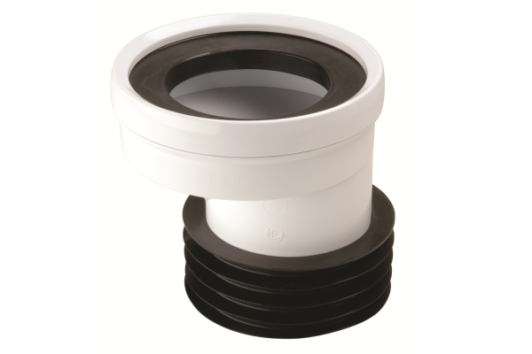 Hunter UPVC WC 22mm Offset Connector