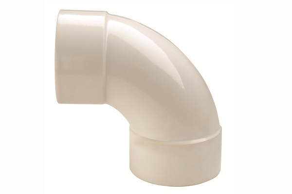 Hunter UPVC Solvent 32mm Waste 90° Swept Bend