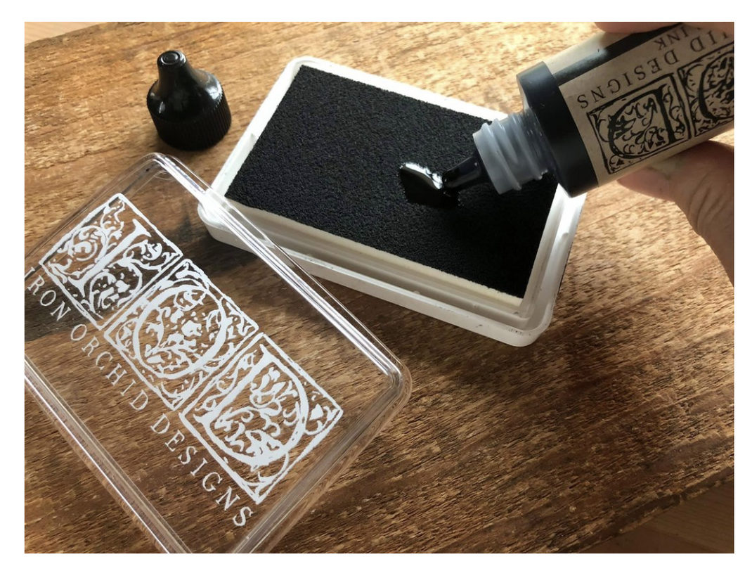 Blank Ink Stamp Pad