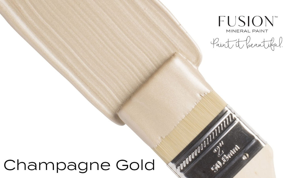 Metallic Paint: Champagne Gold
