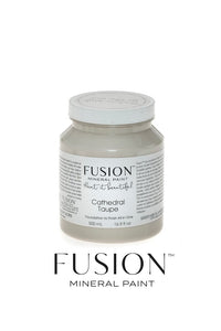 Fusion Mineral Paint: Cathedral Taupe