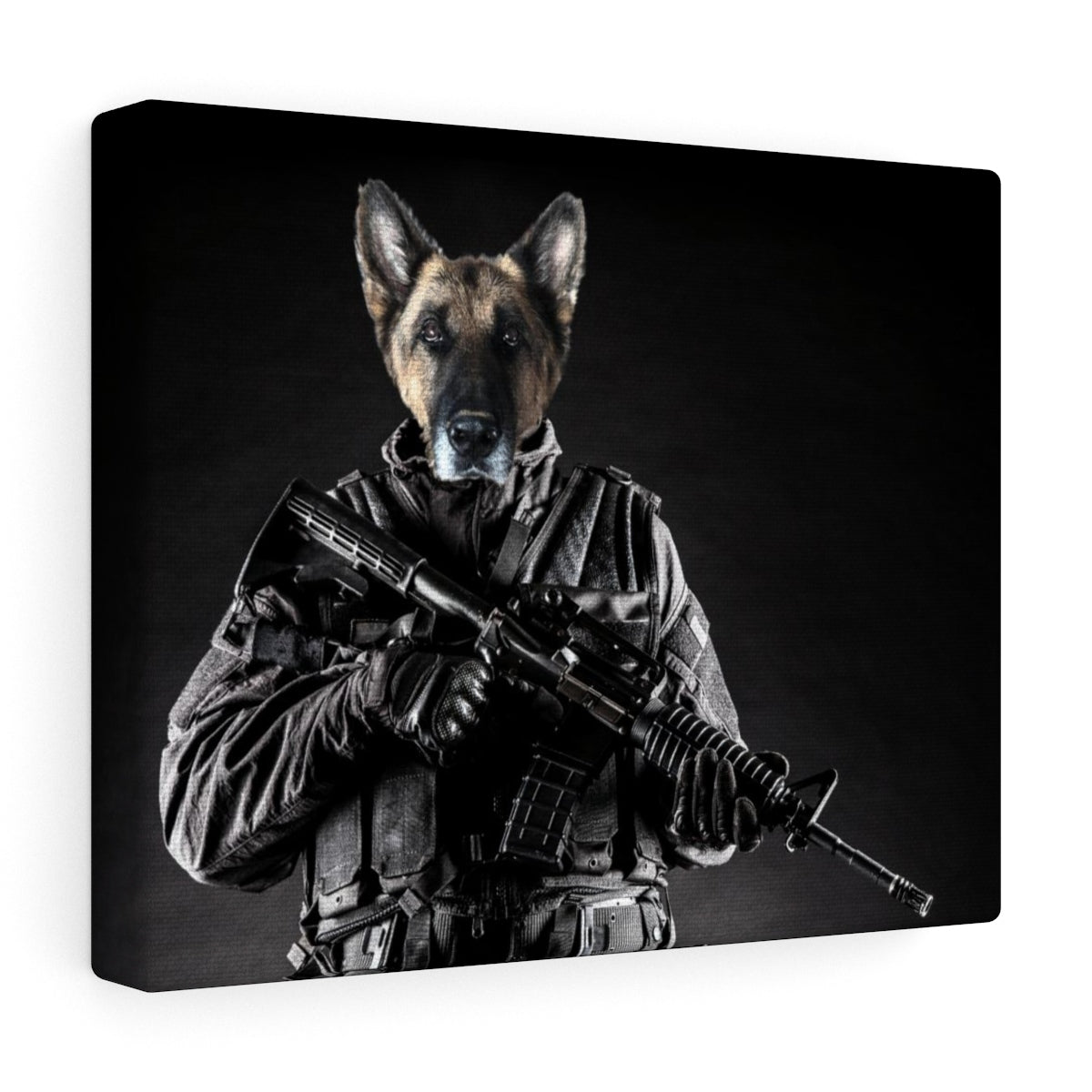 Troopawer - Custom Pet Canvas