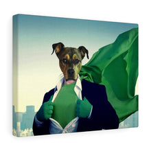 Load image into Gallery viewer, Undercover Planet Hero - Custom Pet Canvas