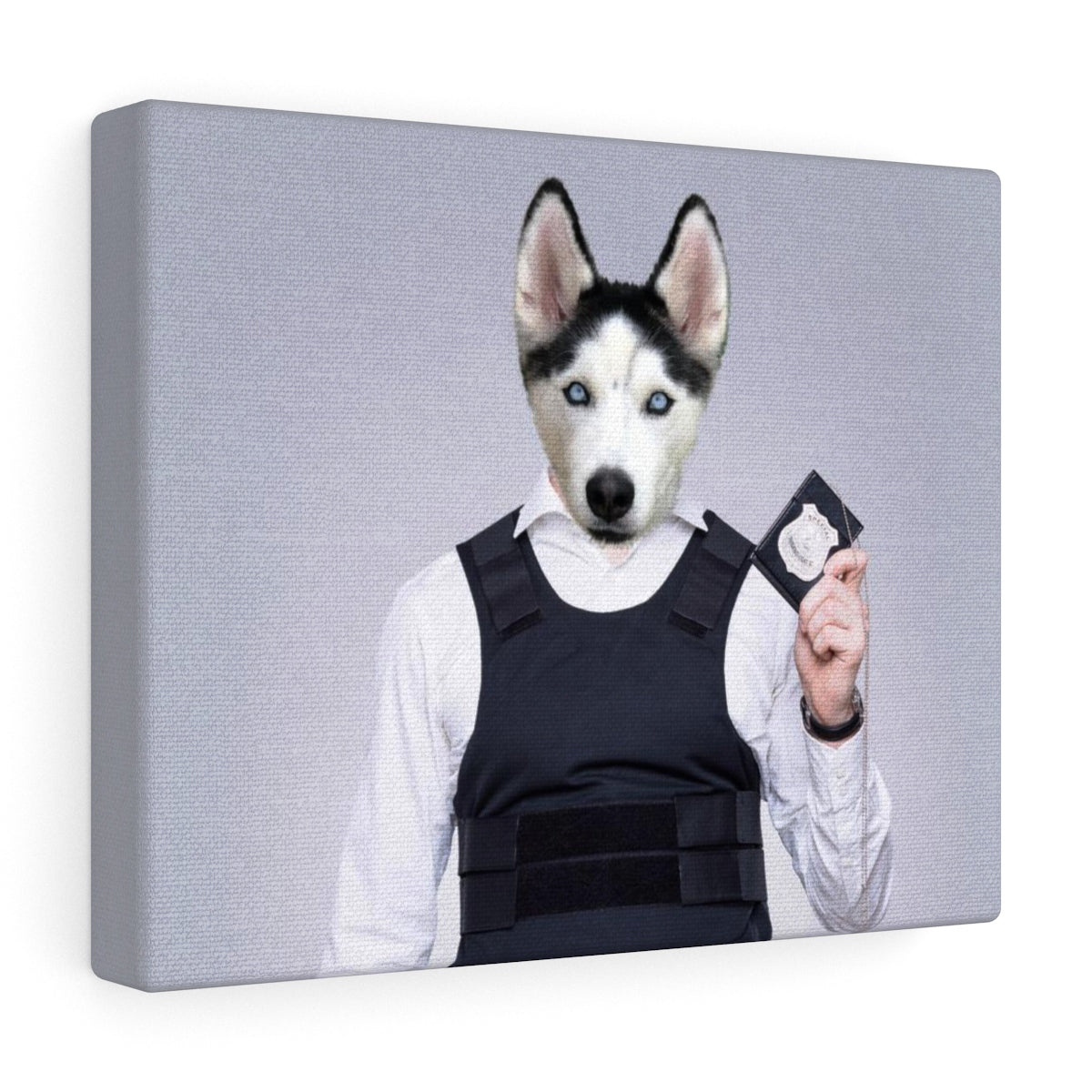 The Pawlice - Custom Pet Canvas