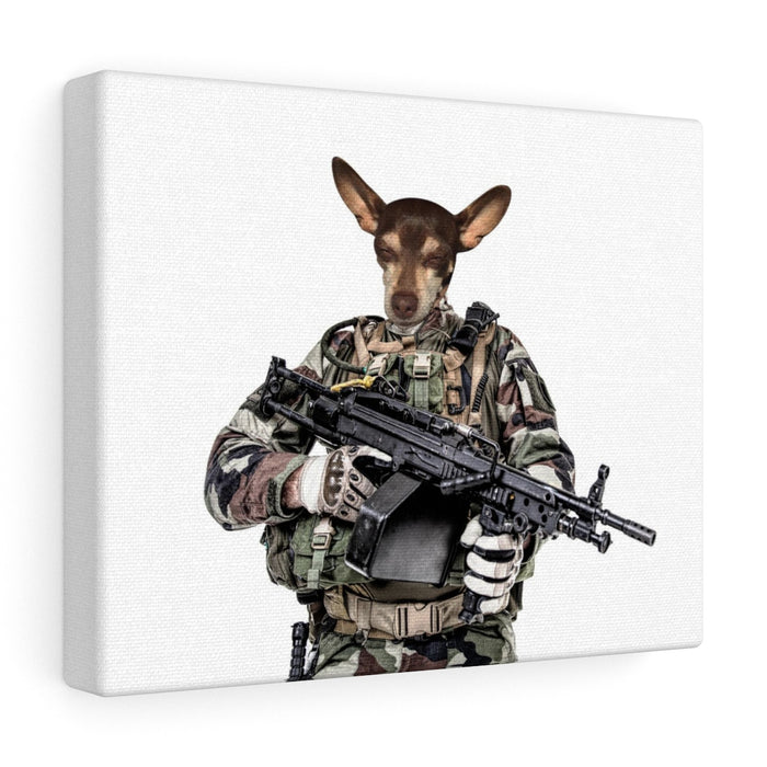 Mr. Compet - Custom Pet Canvas