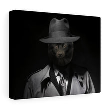 Load image into Gallery viewer, Detective Pawerlock - Custom Pet Canvas